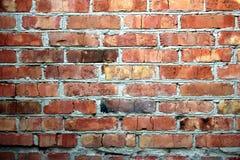Textur för vägg för röd tegelsten, bakgrund fotografering för bildbyråer