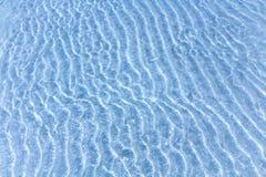 Textur för vatten för Abstrack blåttsand Arkivfoton