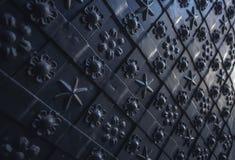 Textur för yttersida för metallgrunge gammal rostig skrapad Arkivfoto