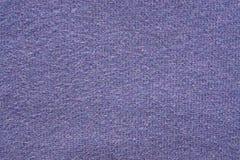Textur från ett ullgarn av violett färg Arkivbilder