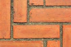 Textur från tegelstengolv Royaltyfri Fotografi