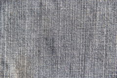 Textur för tyg för grov bomullstvilljeans bruten Fotografering för Bildbyråer