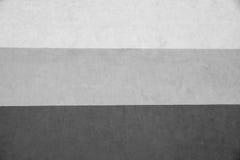 Textur gjorde randig murbruk av tre gråa signaler Fotografering för Bildbyråer