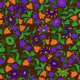 Textur i det islamiska Foral motivet. Royaltyfri Foto