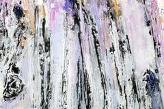 Textur målar stora slaglängder Royaltyfri Bild