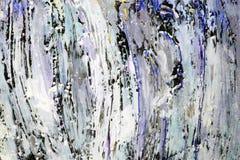 Textur målar stora slaglängder Royaltyfria Bilder