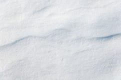 Textur med snödyn Arkivfoto
