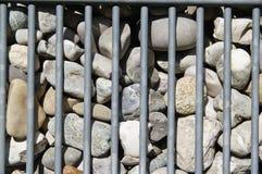 Textur med stenar royaltyfria foton
