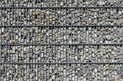 Textur med stenar Royaltyfria Bilder