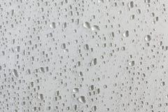Textur med vattendroppar Fotografering för Bildbyråer