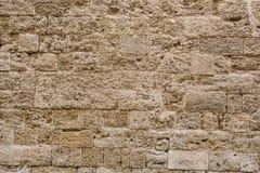 Textur modell, bakgrund av den medeltida stenväggen Fotografering för Bildbyråer