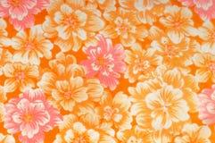 Textur modell Torkduk - siden- chic blom- bakgrund Blom- w Royaltyfria Bilder