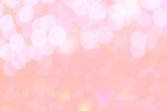 Textur och bakgrund för förälskelse för Blure bokeh söt Royaltyfri Fotografi
