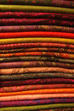 Textur och textil Arkivbild