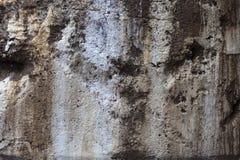 Textur på betongväggen med blått Arkivfoton