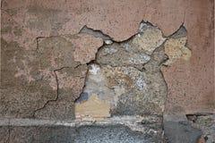 Textur på skalet, gamla byggnader i Odessa 14 Royaltyfri Foto