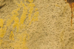 Textur - riden ut guling målad yttersida Royaltyfria Bilder