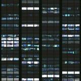 Textur som liknar skyskrapafönster Arkivbilder
