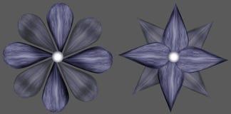 Textur - stenblommor Royaltyfria Bilder