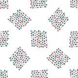 Textura à moda moderna com pontos Foto de Stock