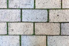 Textura à terra do tijolo Imagens de Stock Royalty Free