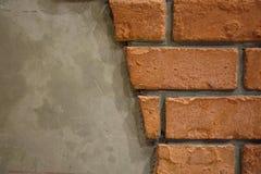 A textura à terra do tijolo, tijolo velho Fotos de Stock