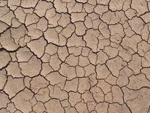 Textura à terra seca fotografia de stock royalty free
