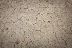 Textura à terra suja rachada Fotos de Stock