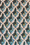 Textura árabe Casablanca Marrocos da parede do Islão Imagens de Stock Royalty Free
