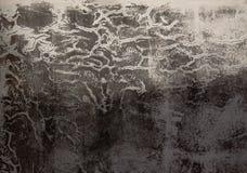 Textura áspera da parede suja escura cinzenta do cimento ilustração do vetor