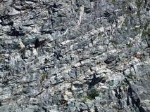 Textura áspera da superfície da rocha foto de stock
