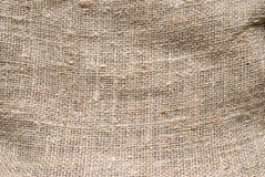 Textura áspera de la arpillera Foto de archivo