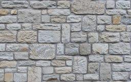 Textura áspera dos tijolos da alvenaria Fotografia de Stock