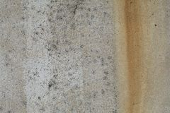 Textura áspera oxidada cinzenta velha do muro de cimento Fotos de Stock