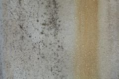 Textura áspera oxidada cinzenta velha do muro de cimento Imagem de Stock