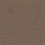 Textura áspera velha realística da serapilheira marrom Lona rasgada, teste padrão sem emenda ilustração royalty free