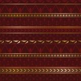 Textura étnica en el color de Borgoña Imagen de archivo