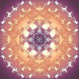 Textura стиля барокко Стоковая Фотография RF