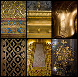textura 03 del oro 6 Fotografía de archivo
