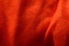 Textura 1 del fieltro de la naranja Fotos de archivo libres de regalías