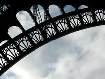 Textura 2 de Eiffel fotografía de archivo