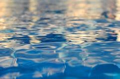 Textura 2 del agua fotografía de archivo