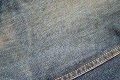 Textura #2 del dril de algodón Foto de archivo libre de regalías