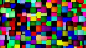 Textura 3D del fondo Imágenes de archivo libres de regalías