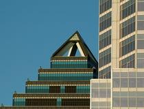 Textura 4. del edificio de Montreal. Imágenes de archivo libres de regalías