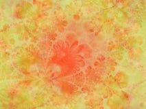 Textura 4 do amarelo alaranjado do ouro Fotos de Stock
