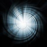 Textura abstracta azul del fondo del vórtice del espacio Imagen de archivo libre de regalías