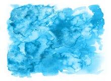 Textura abstracta de la acuarela Fotografía de archivo libre de regalías