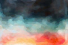 Textura abstracta de la acuarela Imagenes de archivo