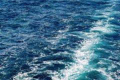 Textura abstracta de la agua de mar Fotografía de archivo libre de regalías